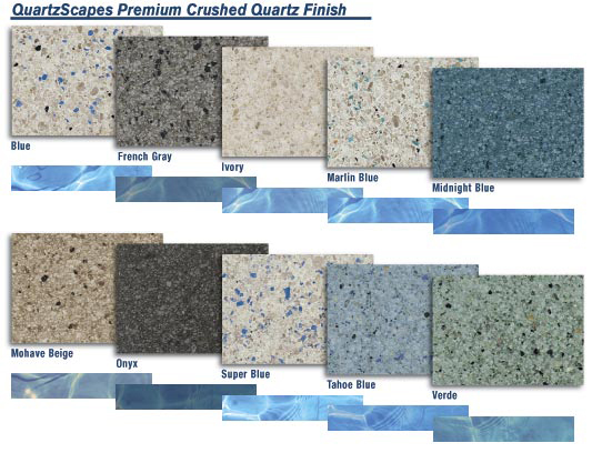 QuartzScapes Premium Crushed Quartz Finish