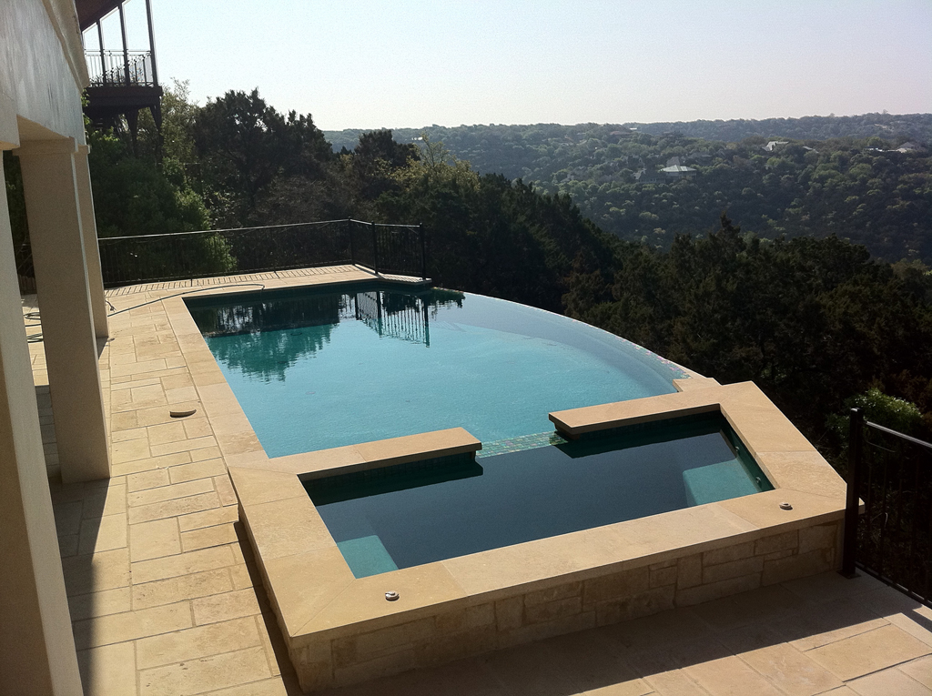 New Construction Pools Photo Gallery- Paradise Pool Plastering ...
